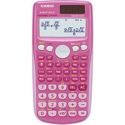 Casio FX-85 GT Plus PINK
