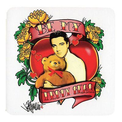 Elvis Presley Be My Teddy Bear Single Drinks Coaster Gift Band Album Fan