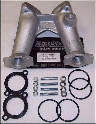 Mangoletsi Mini / A Series 6 inch manifold single Dellorto/Weber 45 Carb M4030