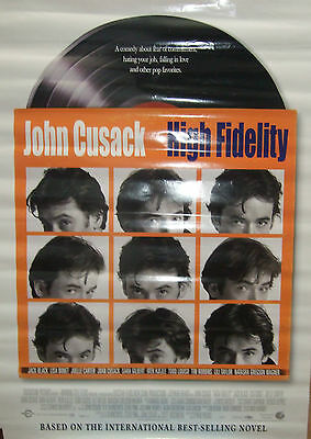 John Cusack HIGH FIDELITY(2000) Rare original rolled US movie poster