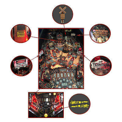 Stern The Walking Dead Pinball Machine Mod Kit