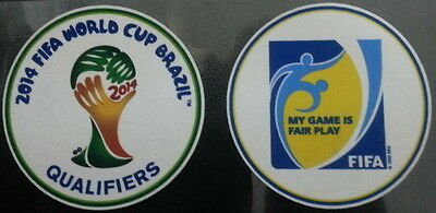 Fifa World Cup Brasil 2014 Qualifiers Patch (Two Patches) - Brazil