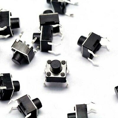 6*6*6MM button switch,tact switch,swith,4 pin DIP,90 d,swith,4 pin DIP,90 degree