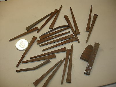 23 Vintage Nails Old Collecters Nails , For Old Vintage Wood Cabinet.