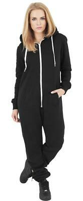 Jumpsuit TB1077 Ladies Sweat Overall black/white