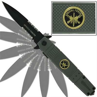 Police Spring Assisted Emergency Knife