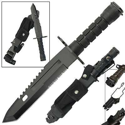 Resistance Combat Military Bayonet Tactical Survival Knife