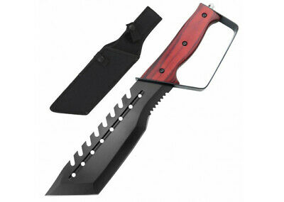Edge of Sanity Full Tang Knife with Glass breaker and Handguard