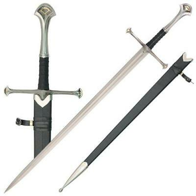 Anduril Elven Medieval Sword with Scabbard