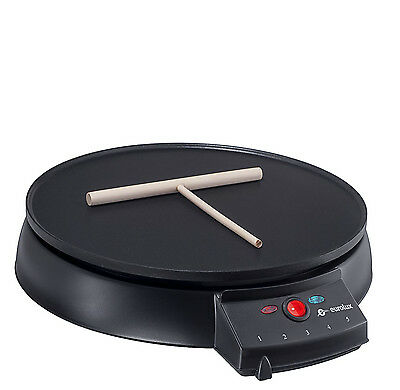 Crepe Maker Griddle Pancake Machine Kitchen Breakfast Electric Aluminum NonStick