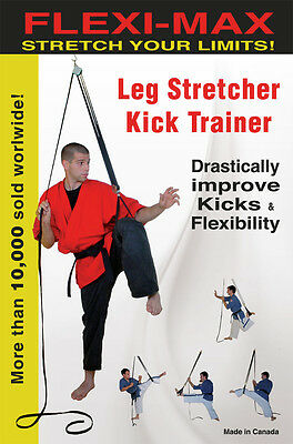 Fleximax LEG STRETCHER & KICK TRAINER More than a PULLEY Fast Improvement Video!