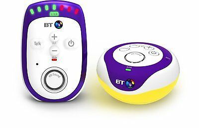 BT Digital Baby Monitor 300 With Night Light Up To 300M Range