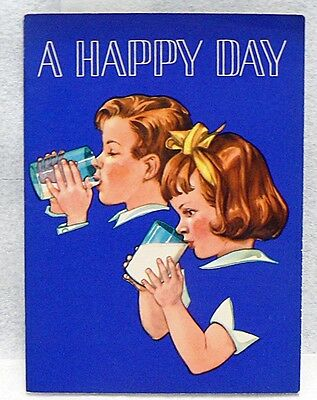 A Happy Day Children's Book Dated 1950