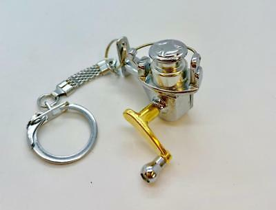New Portable Fishing spinning Reel Miniature Novelty Fishing Gift Tools Keychain