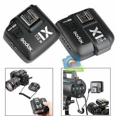GODOX X1C E-TTL Wireless Flash Transmitter and Receiver Trigger Set For Canon