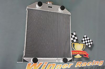 56mm aluminum radiator for Ford car w/flathead V8 engine MT 1942-1948 43 44 45