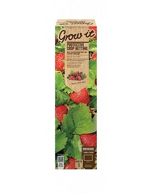 Gardman 10m x 2m Garden Netting Grow Plants Support Fine Agricultural Protection