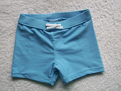 BNWT Baby Boy's Blue Swim Shorts/Pants/Swimmers/Bathers Size 0
