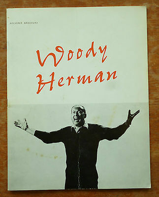 Woody Herman 1967 Original Concert Programme 4 Pages VG