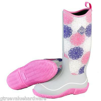 MUCK WOMENS HALE Pink Snowflake MULTI SEASON BOOTS WINTER SNOW SIZE 6 7 8 9 10+