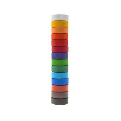 Colorall Tempera Paint Cakes - 44mm x 16mm Assorted 14 Colours