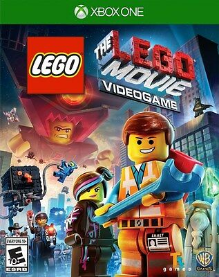 LEGO Movie The Videogame - Xbox One Game - BRAND NEW SEALED