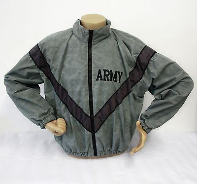 ARMY PT Jacket IPFU Improved Physical Fitness Uniform Jacket MEDIUM LONG 13063