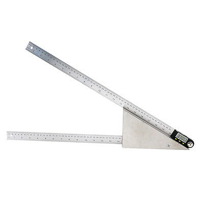 500mm 20'' Digital Protractor Inclinometer Goniometer  Angle Rule Angle Meter