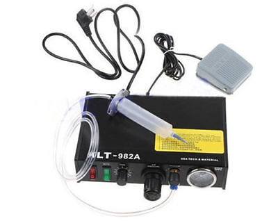 NEW KLT-982A Solder Paste Glue Dropper Liquid Auto Dispenser Controller 220V