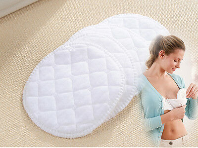 12pcs Reusable Nursing Breast Pads Washable Soft Absorbent Baby Breastfeeding TI