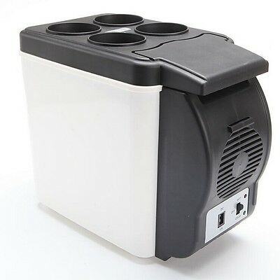 New 6L Portable Fridge 12V Camping Car Boat Caravan Cooler Heater Refrigerator
