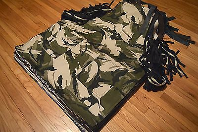 Beige & Green Camouflage Apron Tools Woodwork Barber Hair Stylist Artist Chef