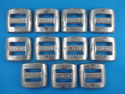 SCUBA DIVE WEIGHTS 11 x 2 LBS 10 KG LEAD SPEARFISHING PROFESSIONAL MADE BELT
