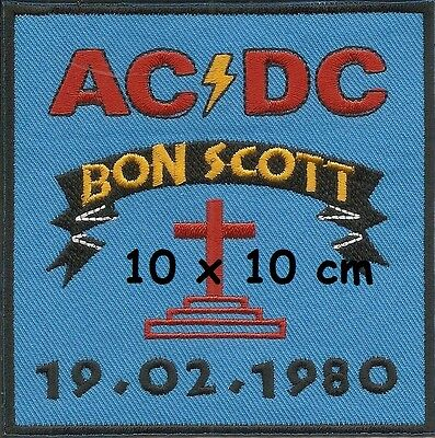 AC/DC - Bon Scott patch - FREE SHIPPING