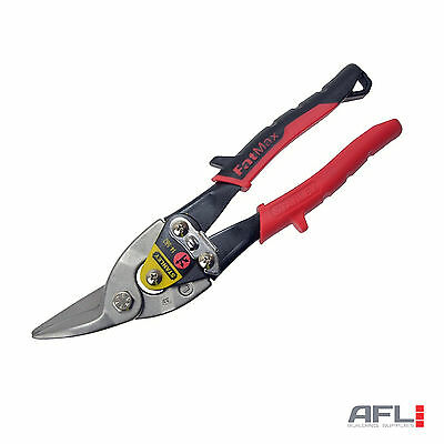 Stanley FatMax 2-14-562 Red Aviation Tin Snips Left Cut 250mm