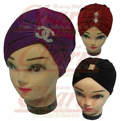 Latest Chemo Hijab Under Cap Scarf Undercap Underscarf Hair Loss Bonnet Tube Hat