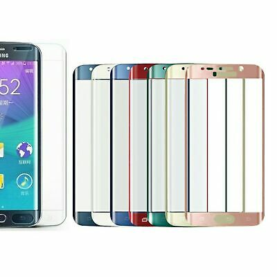 Pellicola in Vetro Temperato Curvo 3D per Samsung Galaxy S6 EDGE PLUS