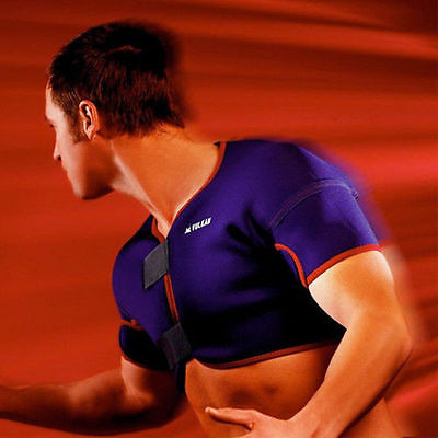 VULKAN 3021 DOUBLE SHOULDER SUPPORT dislocated shoulder rotator cuff injury wrap