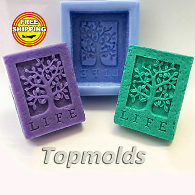 Life Tree Food-grade silicone soap Mold Silicone Mold Free Shipping