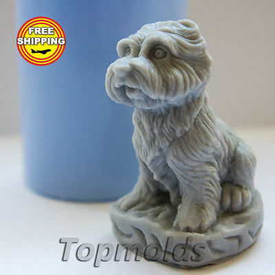 Small Dog 3d Soap Mold Silicone Molds Mold for Soap Mold Free Shipping