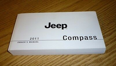 2011 Jeep Compass Owners Manual 11 Guide