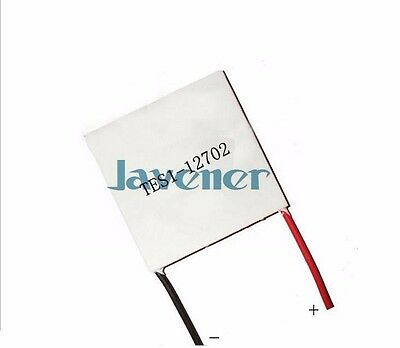 TES1-12702 Heatsink Thermoelectric Cooler Peltier Cooling Plate 30x30mm 12V 2A