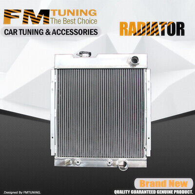 Falcon Mustang Comet Radiator For Ford Mercury V8 63-65 3Row 56mm Aluminum 130