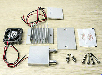 Thermoelectric Peltier Refrigeration Cooling System+ fan + TEC1-12706 DIY kits