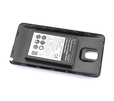 6800mAh Battery + Black Back Covery For Samsung Galaxy Note 3 III N9000 N9005