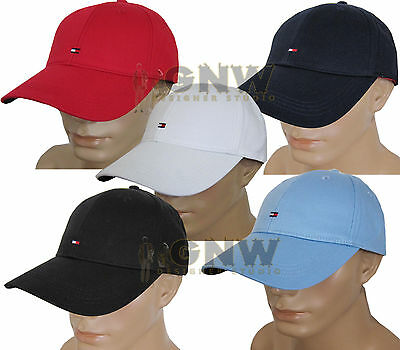 Tommy Hilfiger Men's Classic Baseball Cap/ Golf Cap All Colours One Size New