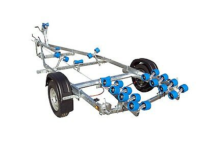 NEW EXTREME 1100kg Swing Boat Trailer