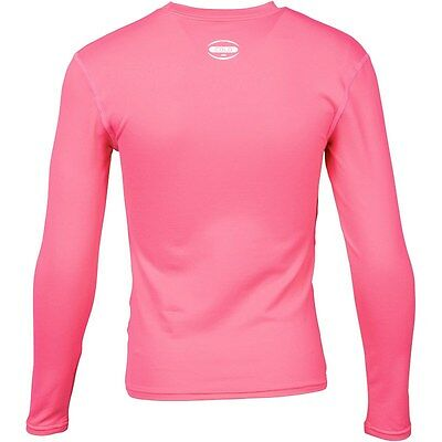 Canterbury Junior Compression Baselayer Cold Long Sleeve Pink Top RRP £24.99