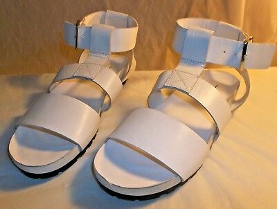 dfba50ecfa VAGABOND Womens Sandals Urban Outfitters Gladiator US 10 White Leather 5366