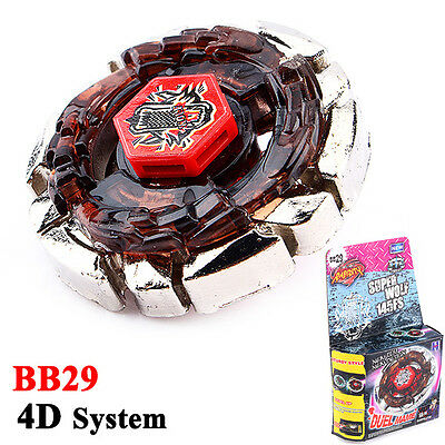 Beyblade Metal Masters 4D System RAPIDITY FUSION FIGHT MASTER BB29 Dark Wolf Toy